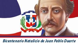 Banner Bicentenario Duarte