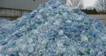 botellas reciclada