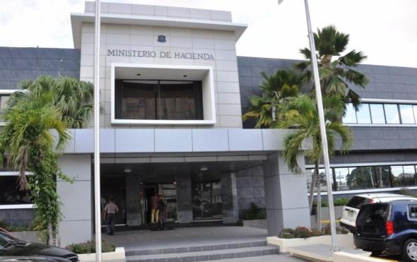 ministerio de hacienda fachada