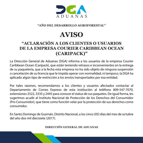 AVISO CARIPACK-01