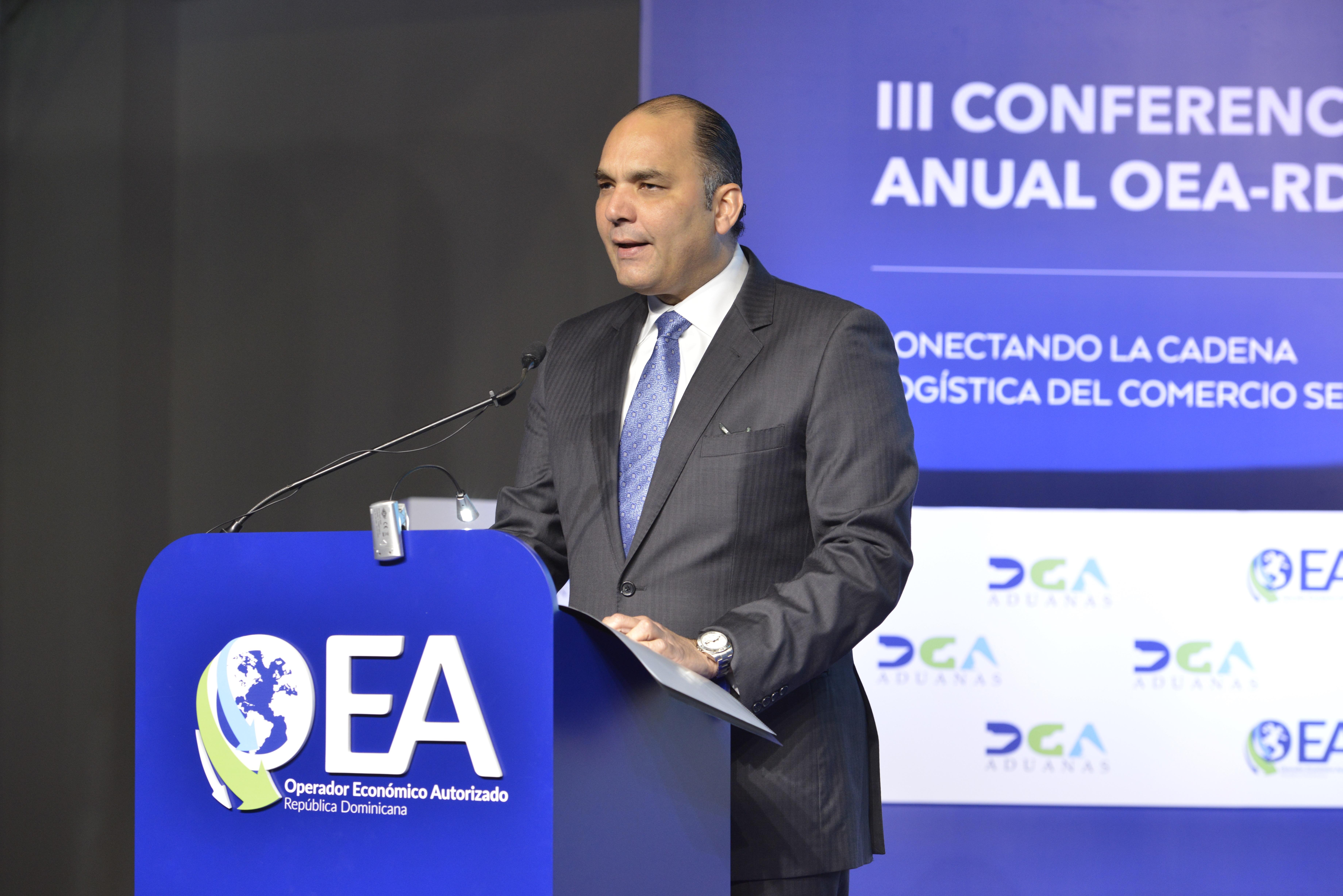 Enrique Ramírez P., director general Aduanas