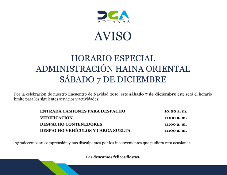 AVISO HAINA ORIENTAL HAINA ORIENTAL, sábado 7-12-2019