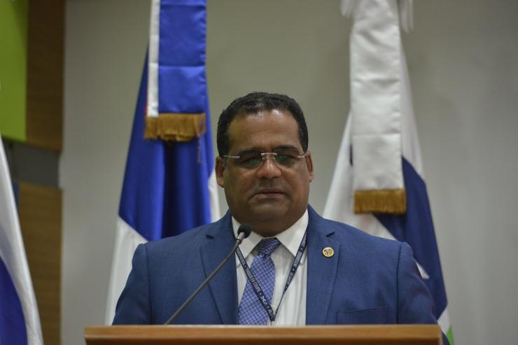 Eduardo Rodríguez, asesor del Director Generald e Aduanas, en representación de la DGA.